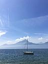 Italy, boat on Lake Garda - LVF004922