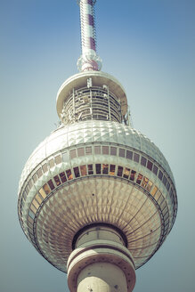 Germany, Berlin, upper part of television tower - CMF000461