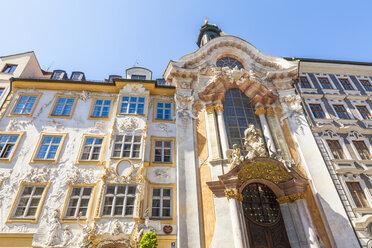 Germany, Munich, facade of Asam Church - WDF003648