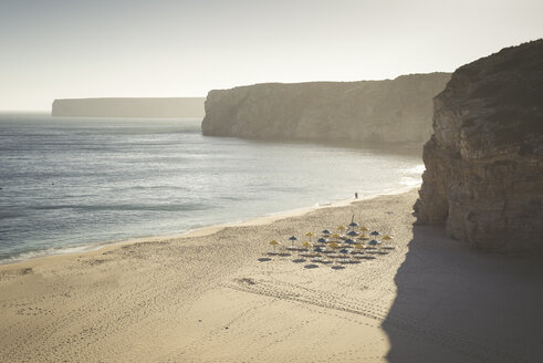 Portugal, Sagres, Praia do Beliche in the evening - EPF000105