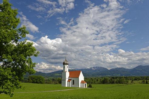 Germany, Bavaria, Upper Bavaria, Penzberg, St John's Church - LBF001437