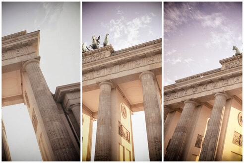Germany, Berlin, Brandenburger Tor, partial views - CMF000488