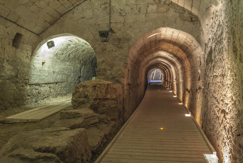 Israel, Acre, Templars Tunnel - HWO000130