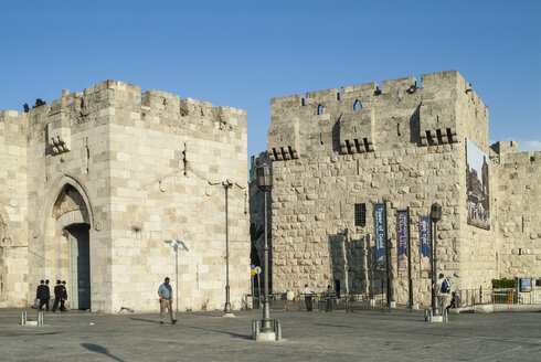 Israel, Jerusalem, Jaffa Gate - HWO000142