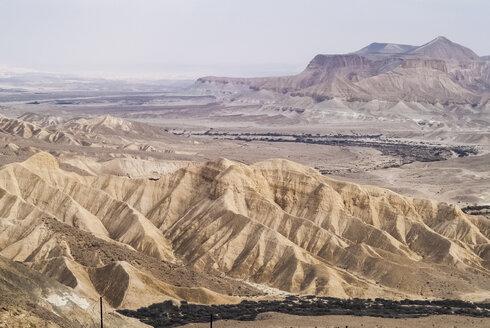 Israel, Zin Desert, part of Negev, headwaters of Nahal Zin - HWOF000151