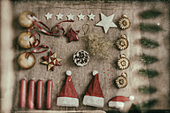 Christmas decoration, knolling - CMF000491