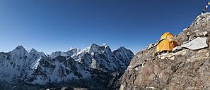 Nepal, Himalaya, Solo Khumbu, Camp 2, Ama Dablam South West Ridge - ALRF000587