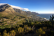 South Africa, Cape Town, Camps Bay, Twelve apostles - YRF000112