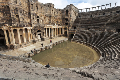 Syria, Daraa Governorate, Bosra, Roman Theater - FPF000084
