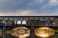 Italy, Tuscany, Florence, Ponte Vecchio - FMOF000054