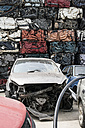 Old cars on car dump - DEGF000879