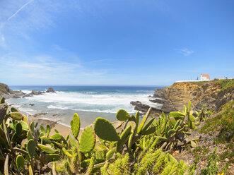 Portugal, Alentejo, Praia da Zambujeira do Mar - LAF001675