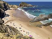 Portugal, Alentejo, Zambujeira do Mar, Praia dos Alteirinhos - LAF001690