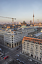Germany, Berlin, elevated city view at evening twilight - PVCF000857