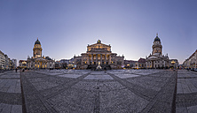 Germany, Berlin, view to Gendarmenmarkt in the evening - PVCF000863