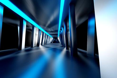 Futuristic room, 3D Rendering - SPCF000083