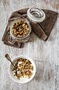 Homemade crunchy muesli, oat, amaranth and linseed - EVGF002992