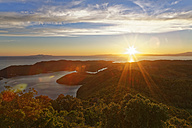 Croatia, Dalmatia, Dubrovnik-Neretva, Mljet Island, Mljet National Park at sunset - GFF000635