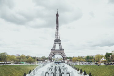 France, Paris, view to Eiffel Tower - ZEDF000209