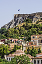 Greece, Athens, Acropolis, seen from Monasteraki Square - THAF001625