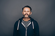 Portrait of man with whisker - IPF000309
