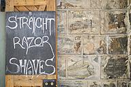 Sign of barbershop - ZEF009211