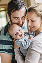Mother and father with baby boy - HAPF000649