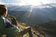 Austria, Tyrol, hiker - MKFF000313