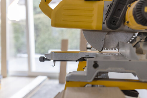 Circular saw in a house, close-up - SHKF000638
