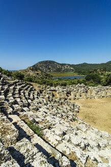 Turkey, Dalyan, amphitheatre of the ancient city Kaunos - THAF001641