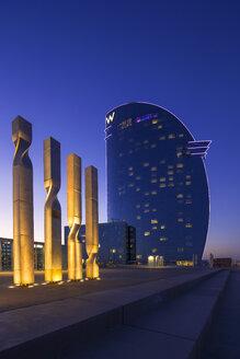 Spain, Barcelona, Hotel W - YR000121