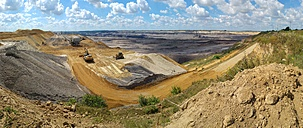 Germany, North Rhine-Westphalia, Grevenbroich, Garzweiler surface mine, Panorama - FRF000441