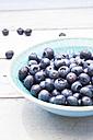 Bowl of blueberries - LVF005189