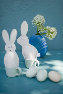 Eastern, decoration, Easter bunnies of felt, egg cosies, eggs, esspresso cups - GISF000233
