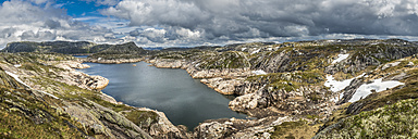 Norway, Forsand, Lake Andersvatnet - STSF001050