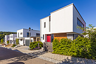 Germany, Esslingen-Zell, development area with passive houses - WDF003696