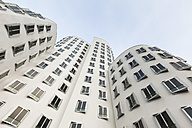 Germany, Duesseldorf, New Zollhof, Facades of the Gehry Houses - FC001003