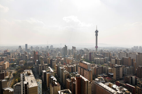 South Africa, Johannesburg, Hillbrow, cityscape - TKF000447