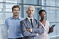 Portrait of confident business team - RORF000241