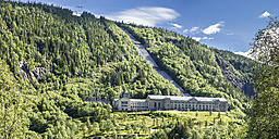 Norway, Southern Norway, Telemark, Rjukan, hydro power station Vemork - STSF001070