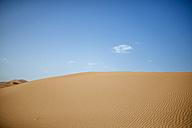 Morocco, Meknes-Tafilalet, Midelt, Merzouga, Dune landscape in the desert Erg Chebbi. - KIJF000700