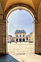 Italy, Brescia, view to Palazzo della Loggia at Piazza della Loggia - CST001103