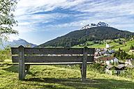 Switzerland, Grisons, Swiss Alps, mountain village Savognin in Park Ela - CSTF001121