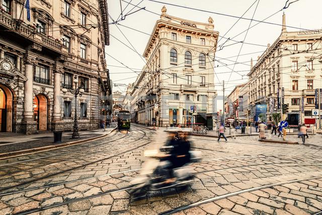 Italy, Milan, view to Piazza Cordusio - CST001139