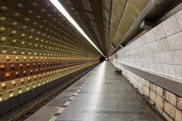 Czech Republic, Prague, underground station - GF000727