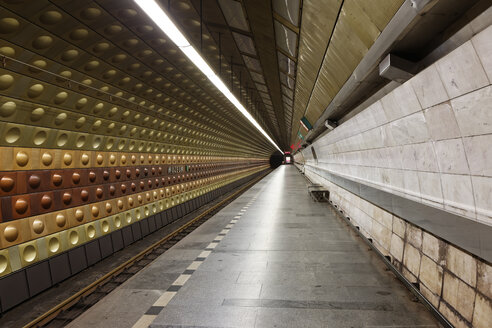 Czech Republic, Prague, underground station - GF000727