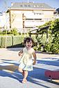 Running little girl on playground - ABZF000983