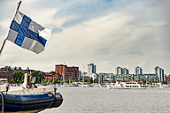 Finland, Helsinki, Harbour and city center - CSTF001149