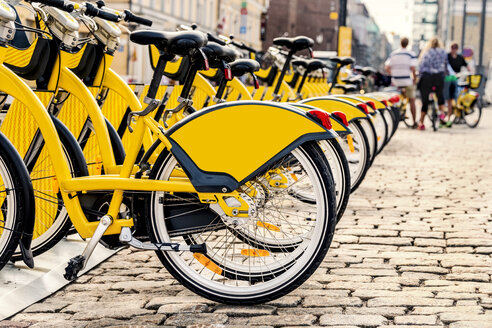 Finland, Helsinki, rental bikes, city bikes - CSTF001164