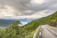 Norway, Sogn og Fjordane, Sognefjord, road - CSTF001191
